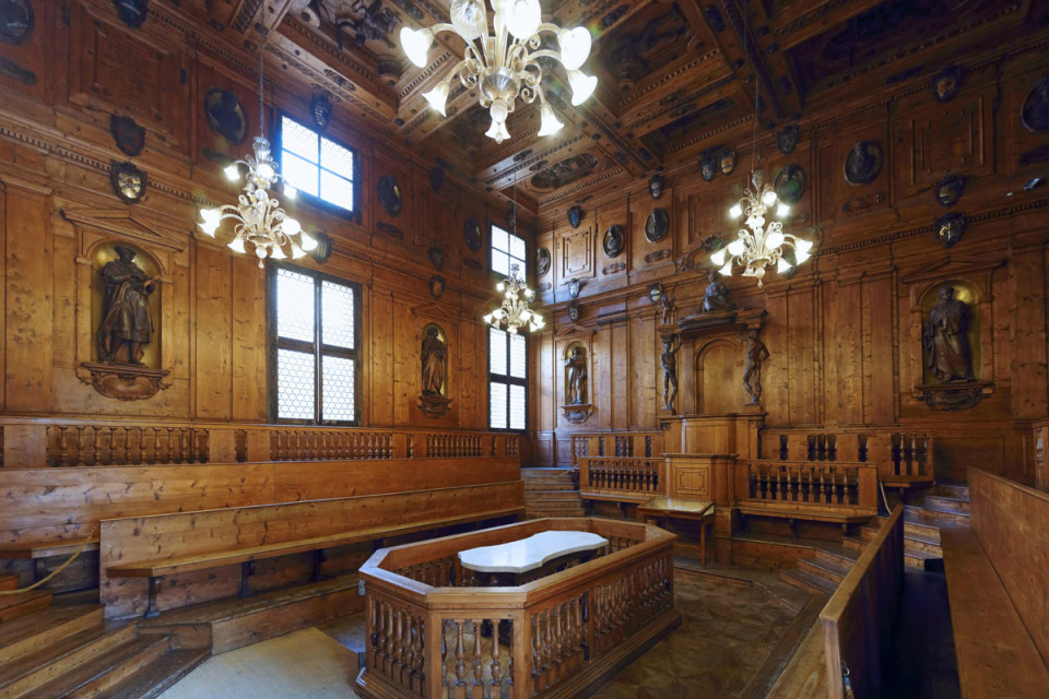 Archiginnasio Palace, Anatomical Theater